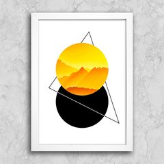 Poster Abstract Yellow III - comprar online