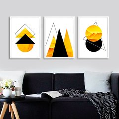Kit Abstract Yellow - comprar online
