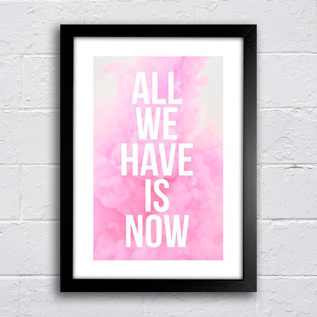 Poster All we have is now - comprar online