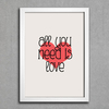 Poster Beatles All You Need Is Love - loja online