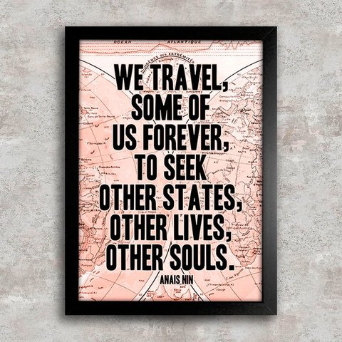 Poster Anais Nin Quote