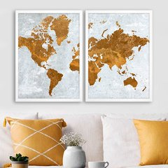 Kit Antique Gold Map - comprar online