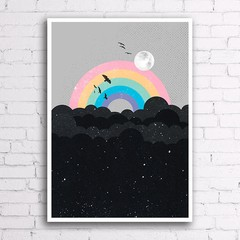Poster Rainbow na internet