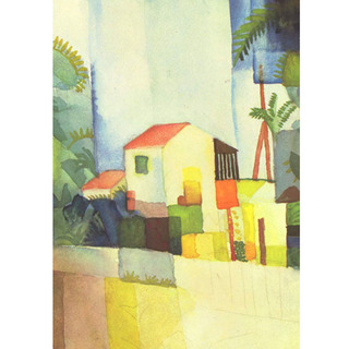 August Macke - Bright House na internet
