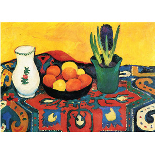 August Macke - Still Life Hyacinths Carpet na internet
