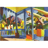 August Macke - Terrace of the Country House in St Germain na internet