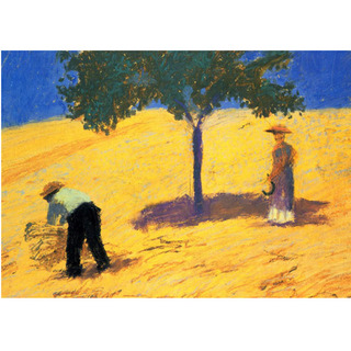 August Macke - Tree in the Cornfield na internet