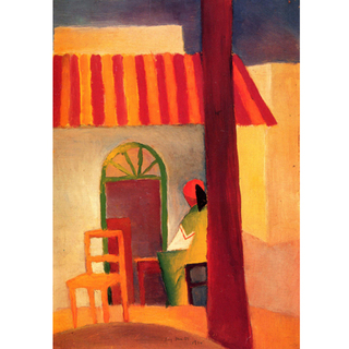 August Macke - Turkish Cafe I na internet