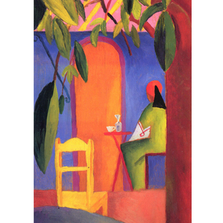 August Macke - Turkish Cafe II na internet