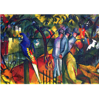 August Macke - Zoological Garden na internet