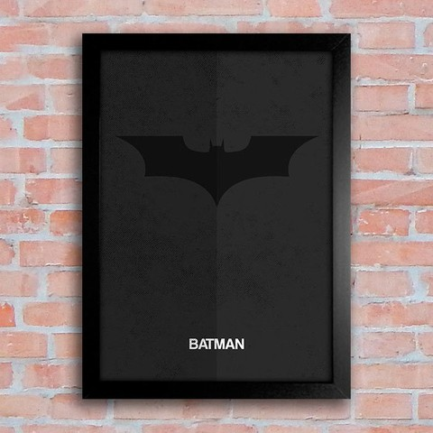 Poster Batman Logo na internet