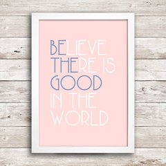 Poster Be The Good - comprar online