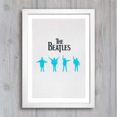 Poster Beatles Help na internet