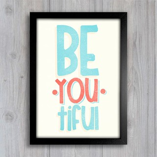 Poster Be.You.Tiful - comprar online
