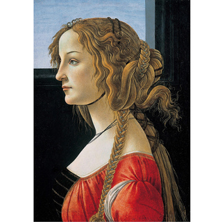 Botticelli - Portrait of a Young Woman na internet