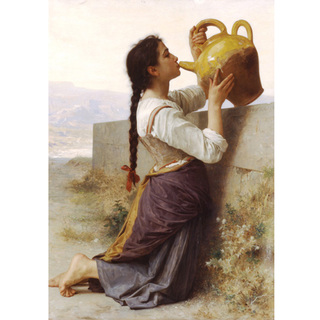 Bouguereau - Thirst