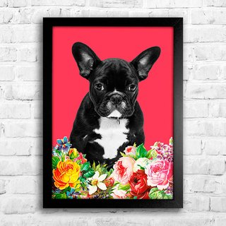 Poster French bulldog - comprar online