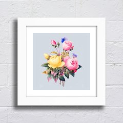 Quadro Buquet Vintage Flowers na internet