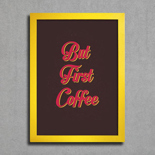 Poster But First Coffee - loja online