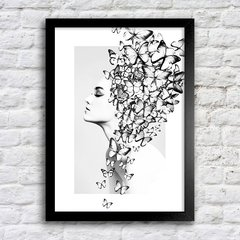 Poster Butterfly Girl