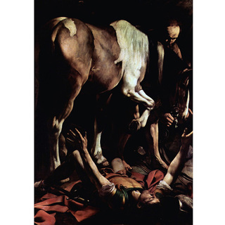 Caravaggio - La Conversion de Saint Paul sur la Route de Damas