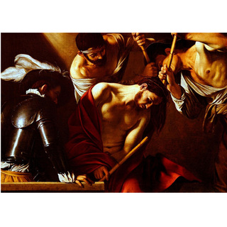 Caravaggio - The Crowning With Thorns