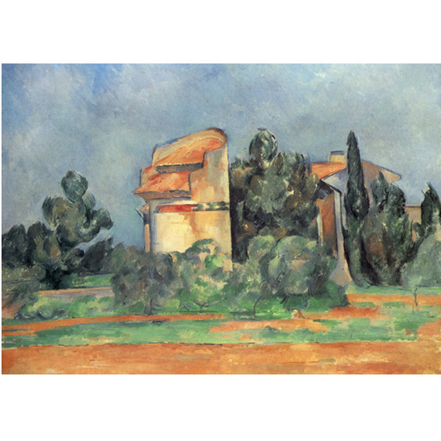 Cezanne - The Pigeon Tower At Bellevue na internet