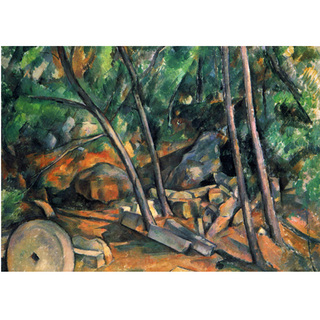 Cezanne - Woods With Millstone na internet