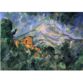 Cezanne - Mont Sainte Victoire and Chateau Noir na internet