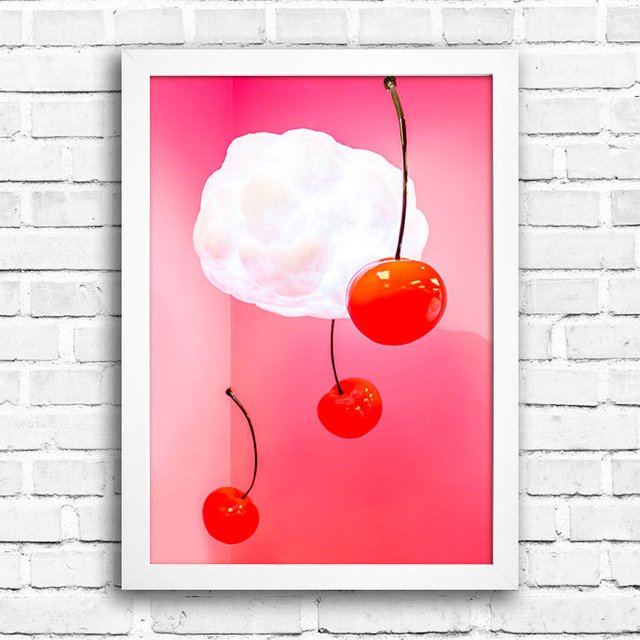Poster Cherry Abstract na internet