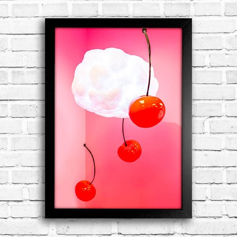 Poster Cherry Abstract