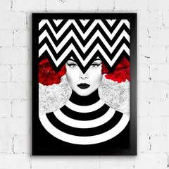 Poster Chevron Girl