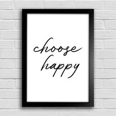 Poster Choose Happy
