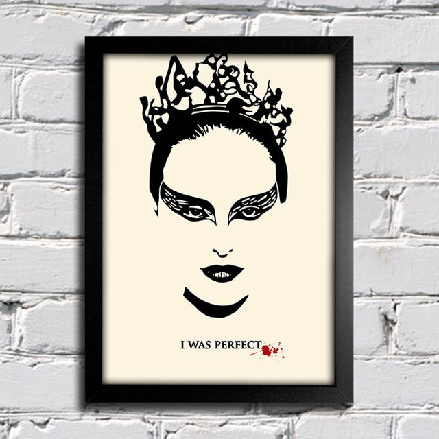 Poster Cinema Cisne Negro Black Swan I was Perfect