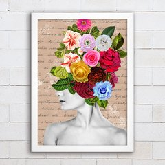 Poster Collage Girl - comprar online