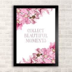 Poster Collect Beautiful Moments - comprar online