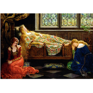 Collier - Sleeping Beauty
