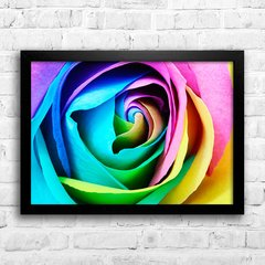 Poster Colorful Rose H - comprar online