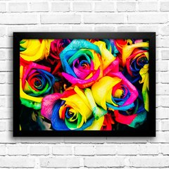 Poster Colorful Roses na internet