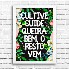 Poster Cultive Cuide - comprar online