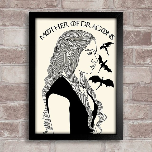 Poster Game of Thrones - Daenerys - comprar online