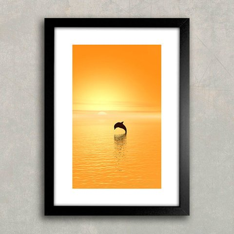 Poster Dolphin - comprar online
