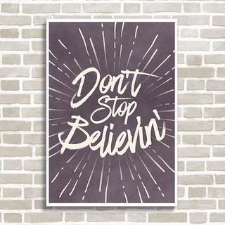 Imagem do Poster Don't stop believin'