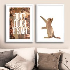 Kit Don't Touch It's Art - comprar online