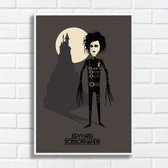 Poster Edward Scissorhands na internet