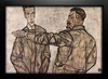 Egon Schiele - Double Portrait - Chief Inspector Heinrich Benesch and his Son Otto
