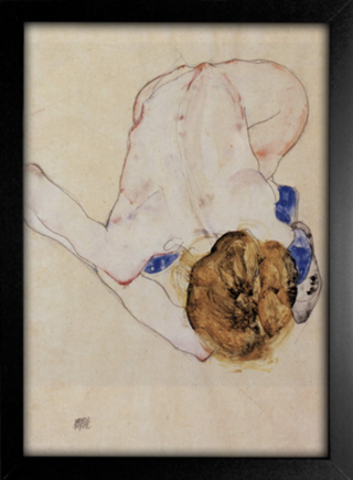Imagem do Egon Schiele - Forwards Female Nude