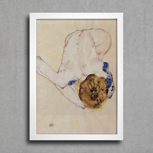 Egon Schiele - Forwards Female Nude - comprar online