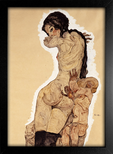 Egon Schiele - Mother and Child II