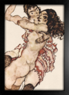 Imagem do Egon Schiele - Pair of Women Embracing Each Other